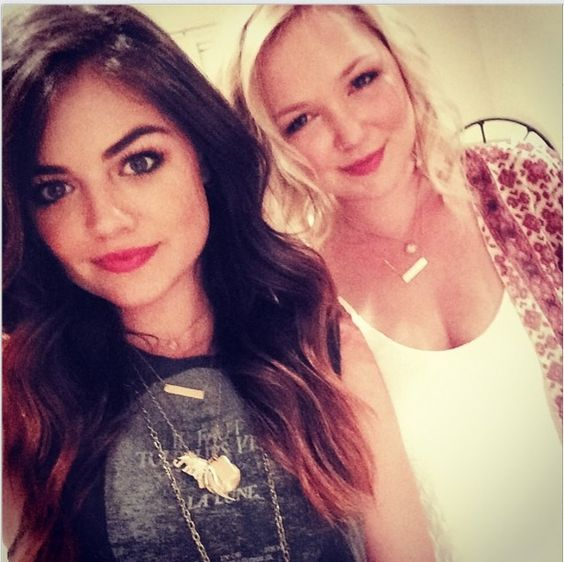 #BarNecklaces are making a comeback!  Apparently, Lucy Hale of TV's #PLL can't get enough of hers!