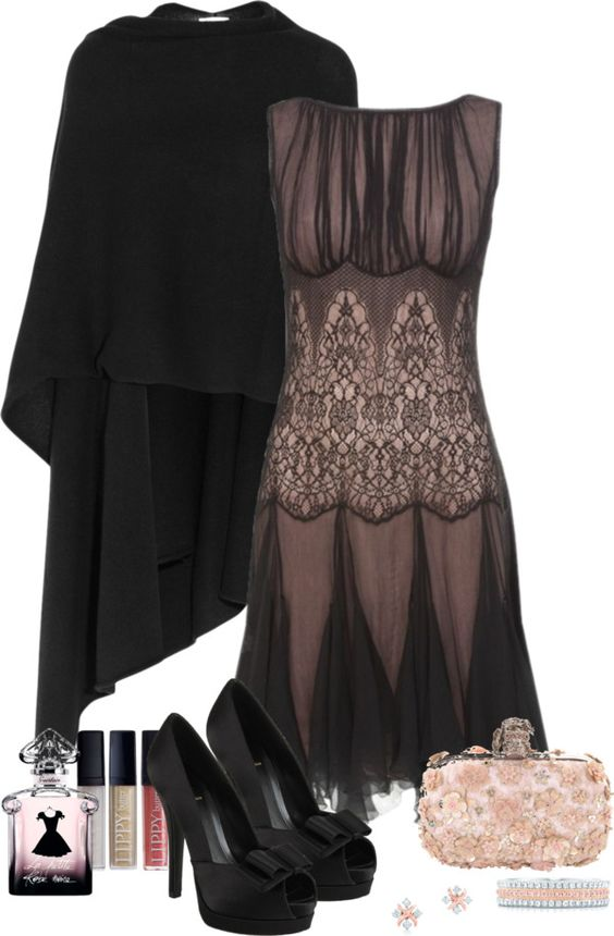 """Holiday Dinner Party Outfit"" by sherry7411 on Polyvore"