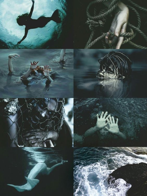 Dark Mermaid Aesthetic