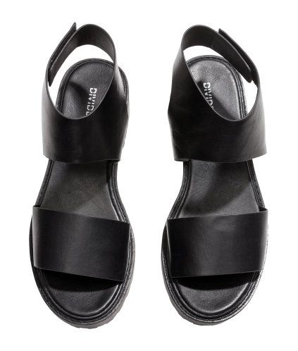 Chunky-sole Sandals | Product Detail | H&M