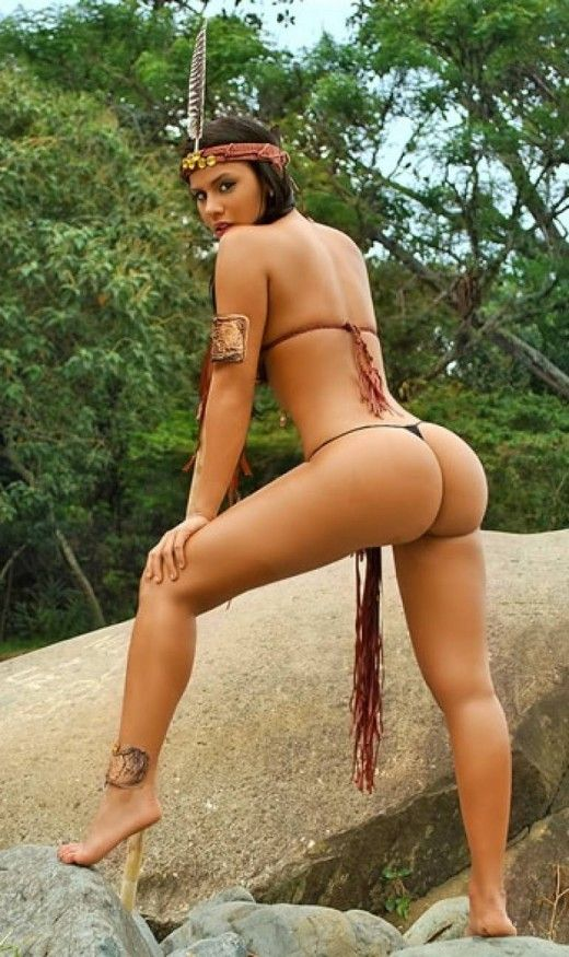 Women anal native nude american beautiful