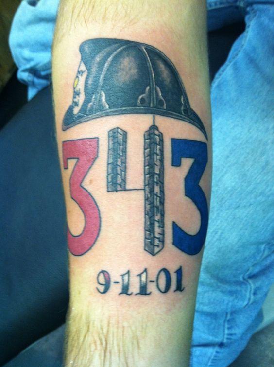 #tattoo #343 #9/11 #firefighter