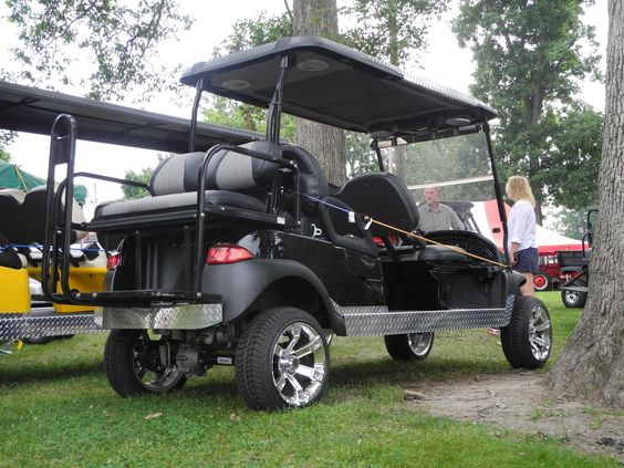Used Tires Dayton Ohio >> This custom electric 6-passenger Club Car Precedent ...