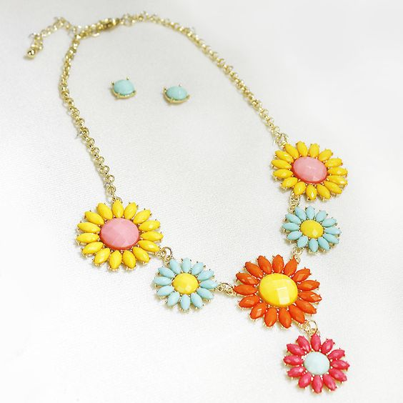 MyWholesaleFashion.com - Fashion Necklace NE7552 Multi Color (Unit Price: $5.00) 2 Pieces, $10.00 (http://www.mywholesalefashion.com/fashion-necklace-ne7552-multi-color-unit-price-5-00-2-pieces/)