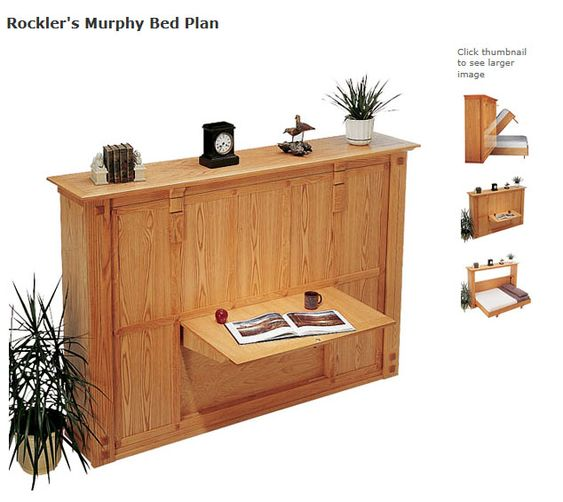 Murphy Bed Office Guest Bedrooms Queen Size