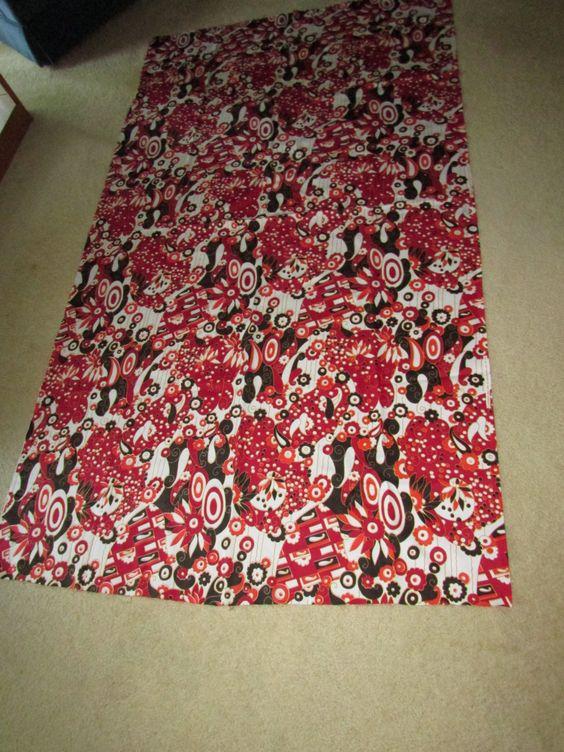 "Vintage 1971 Klopman Mills / Burlington Fabric 44"" x A Bit Over 2 Yards (80"")…"
