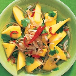 Salade, Mango and Mango salade on Pinterest