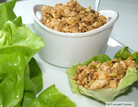 P.F. Paleo Chicken Lettuce Wraps: Chicken Recipe, Paleo Chicken, Chicken Lettuce Wraps, Food Drink, Chang S, Paleo Recipes