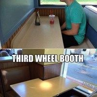 Is there a fifth wheel booth?