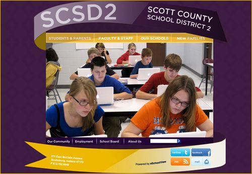 Scott County School District 2 - Scottsburg, Indiana