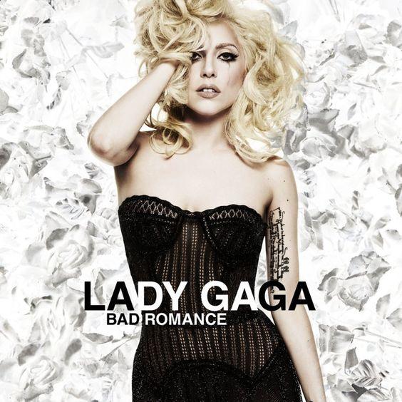 Lady Gaga – Bad Romance (single cover art)