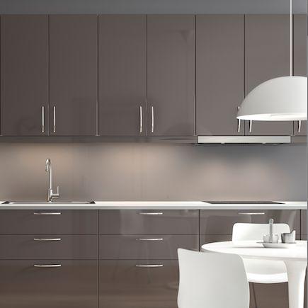 Kitchen-compare IKEA Metod Ringhult Grey Gloss Ideas for - küchen marquardt köln