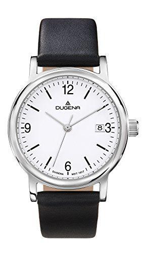 Dugena Damen-Armbanduhr Sportlich-Elegant Analog Quarz Leder 4460631 - http://uhr.haus/dugena/dugena-damen-armbanduhr-sportlich-elegant-quarz