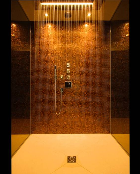 16 Photos of the Creative Design Ideas for Rain Showers Bathrooms ...