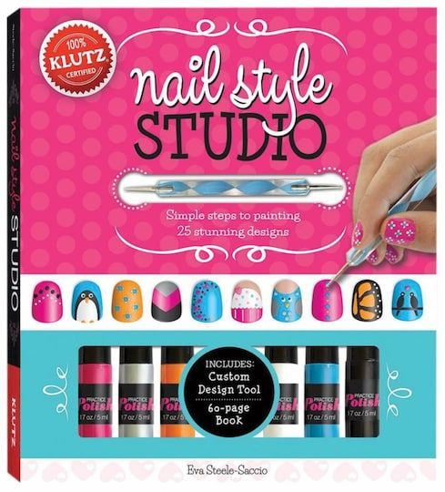 Nail Style Studio Simple Steps To Painting 25 Stunning Designs By