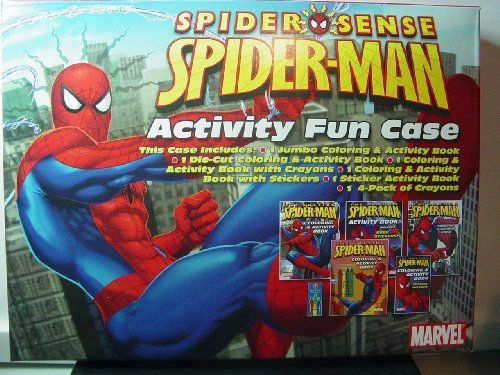 Spider Sense Spider Man Activity Fun Case Toy By Spider Man Be Sure To Check Out This Awesome Product It Is A Color Activities Pack Of Crayons Spiderman