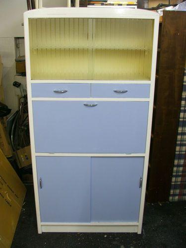 Kitchen Pantry Larder Cabinet Cupboard Vintage 1950 39 S 60 39 S Retro Ebay Vintage Pinterest