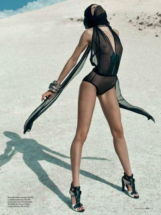 Candice Swanepoel Elle Brazil