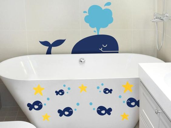 Cool wall decal ideas for kids' rooms (Photo courtesy of Dali Wall Decals):