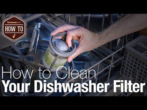 7 How To Clean Your Dishwasher Filter Youtube Cleaning Your Dishwasher Dishwasher Filter Clean Dishwasher