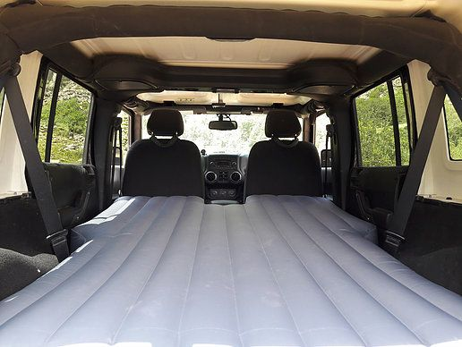 Deepsleep Jeep Jku Air Mattress With Pump Deepsleep Jeep Cool Jeeps Jeep Jku