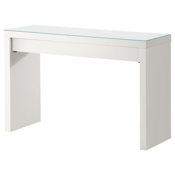 Malm dressing table white dressing tables tables and malm - Dimension dressing ikea ...