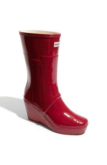 Great rain boots. The wedge heel is perfect for me. Wish I could ...