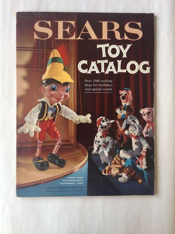 1960 Christmas Toys : Sears roebuck toy catalog christmas barbie disney