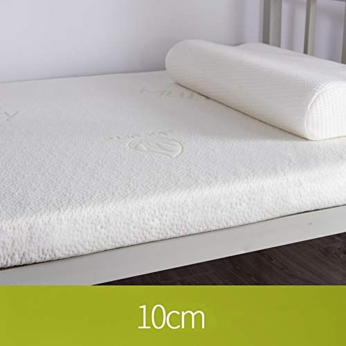 Wayerty 3 Inch Extra Thick Memory Foam Mattress Topper Pressure Relieving Mattresses Breathable Bed To Premium Mattress Foam Mattress Topper Luxury Mattresses