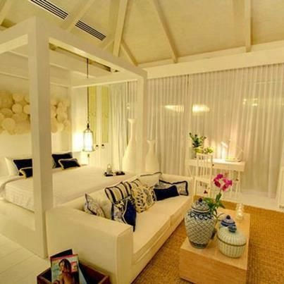 Tranquil bedroom bedrooms and spaces on pinterest for Tranquil living room ideas
