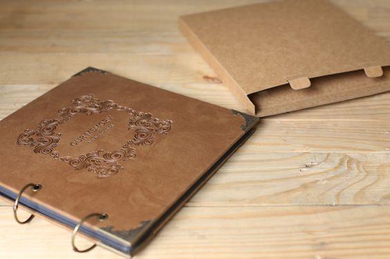 Cheap 50 pages / / de la boda libro de visitas / / Kraft álbum de recortes…