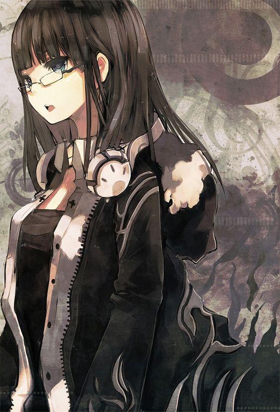 Tomboy anime girl with headphones wallpaper pinterest - Anime wallpaper hoodie ...