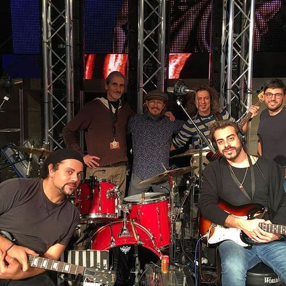 Opening night in ANTWERP! Hanging out with the boys in the band during soundcheck! #jesuschristsuperstar #jcsuperstar #openingnight #soundcheck #antwerp #stadsschouwburg #belgium #jcstoureurope #jcstour2017 #letsrock