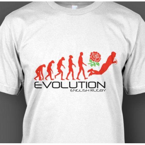 English Rugby Evolution T-Shirt