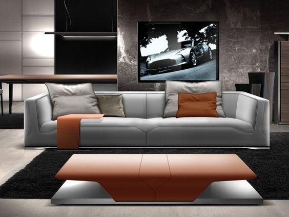 rasante m bel in einem windschnittigen design sofa von aston martin sofa pinterest. Black Bedroom Furniture Sets. Home Design Ideas