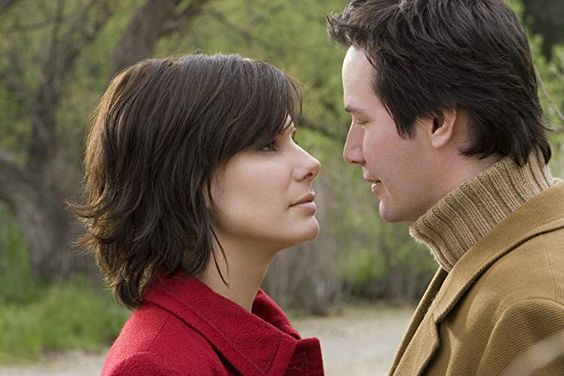 Sandra Bullock and Keanu Reeves in The Lake House (2006)