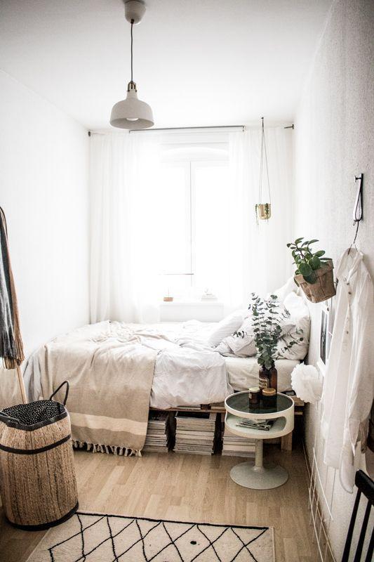 Kleine Schlafzimmer Einrichten Ideen / Mini Schlafzimmer ...