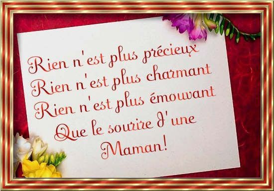 Texte Danniversaire Pour Une Maman Lovely Bonne Maman Je T