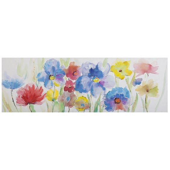 Cuadro de flores rom ntico de lienzo para dormitorio - Lienzos para dormitorios ...