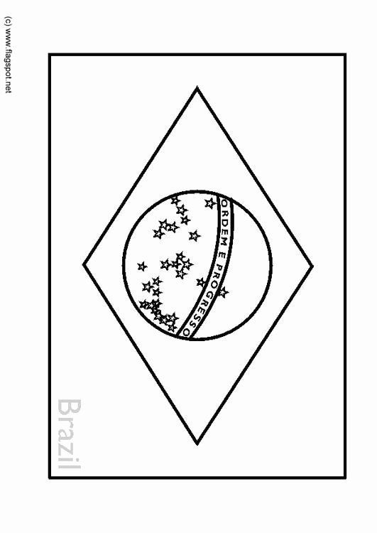 Flag Of Brazil Coloring Page New Coloring Page Flag Brazil Img 6346 In 2020 Flag Coloring Pages Coloring Pages Unique Coloring Pages