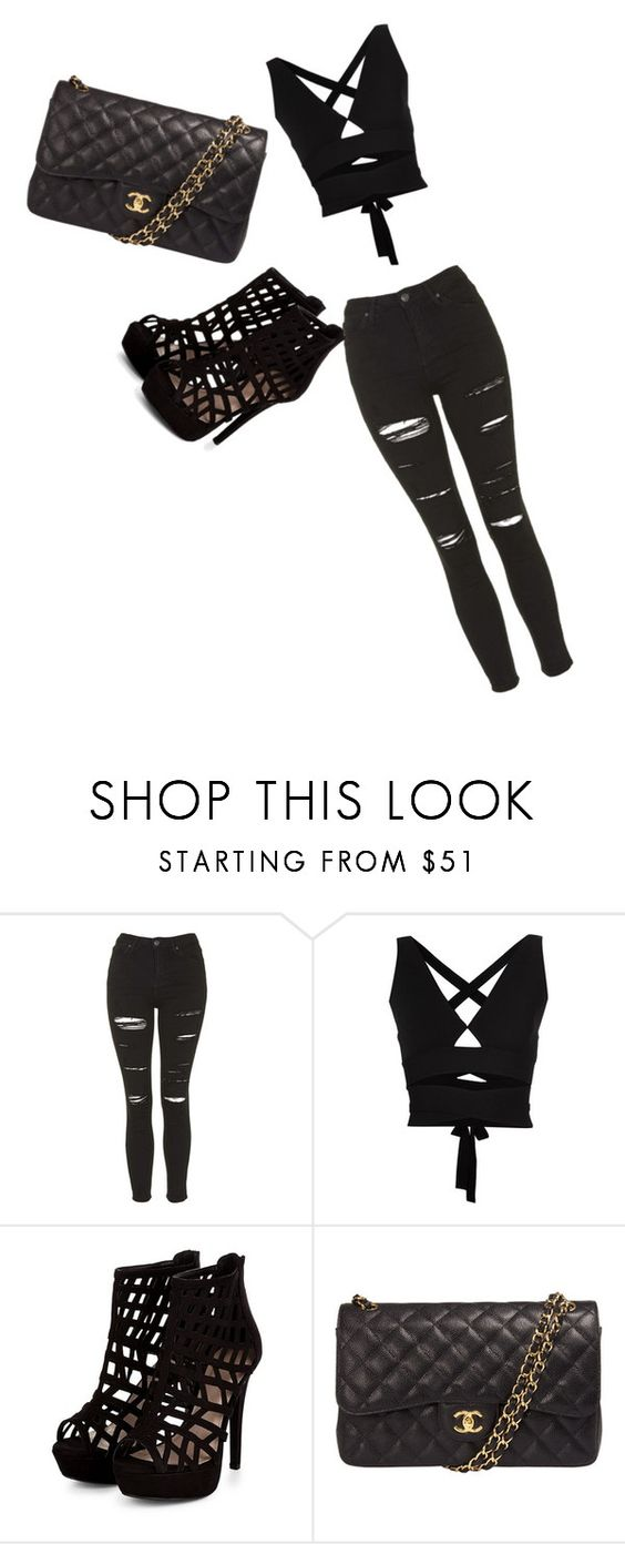 """""""Untitled #7"""" by buttercupflyer on Polyvore featuring Topshop, Proenza Schouler and Chanel"""