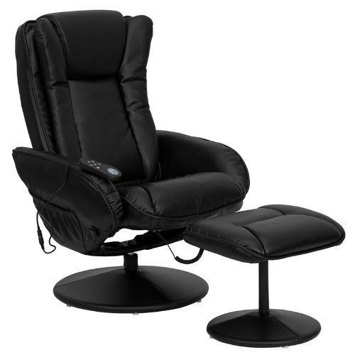 Therapeutic Massage Chair Kneading Best Stressless Recliner Swivel Seat Footrest Flashfurniture Black Leather Recliner Recliner With Ottoman Leather Recliner