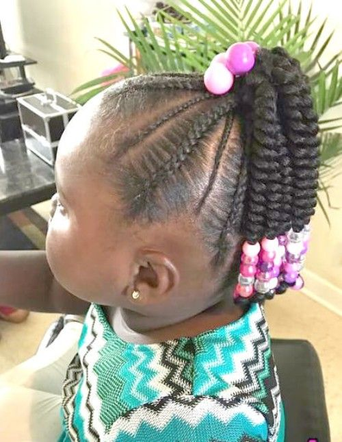 22 Adorable Braids With Beads Hairstyles For Black Kids Kids