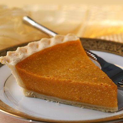 Lighter Libbys Pumpkin Pie