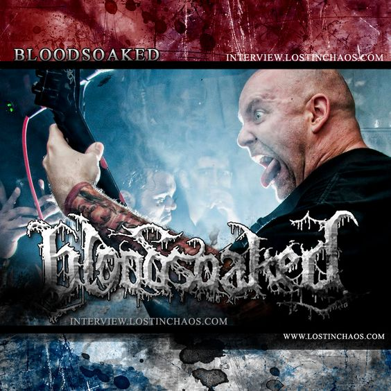 BLOODSOAKED (USA) Interview, check here http://www.interview.lostinchaos.com/2016/03/bloodsoaked-interview-usa.html