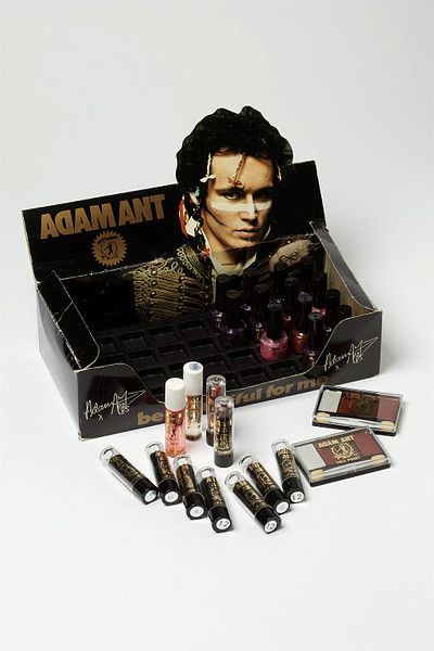 Adam Ant Make-up box....this would have been on my Christmas list......in 1983!