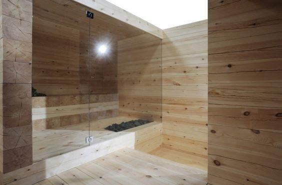 Ville Hara, Anu Puustinen; sauna Kyly (Finland): Bathroom Experience, Bathroom Sauna, Sauna Bath House Pirts Archit, Spa Pools Bathrooms, Steam Room, Avanto Architects