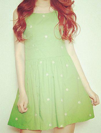 green dress - Tbdress