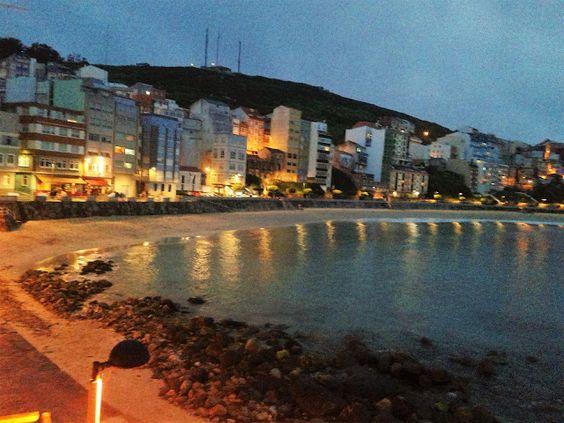 """Malpica de Bergantiños """"Tienes que venir"""" turismo de calidad,gastronomía y cultura: Anochece en Malpica de Bergantiños"""