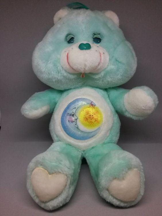 Toys For Bedtime : Vintage care bear bedtime stuffed animal plush